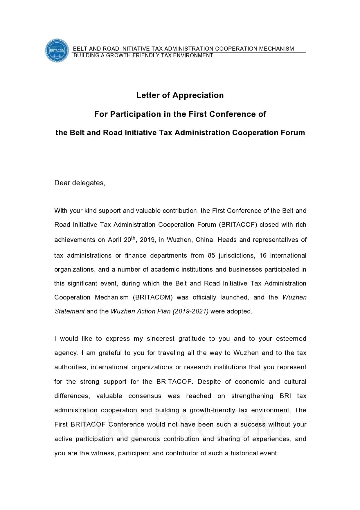appreciation letter 27