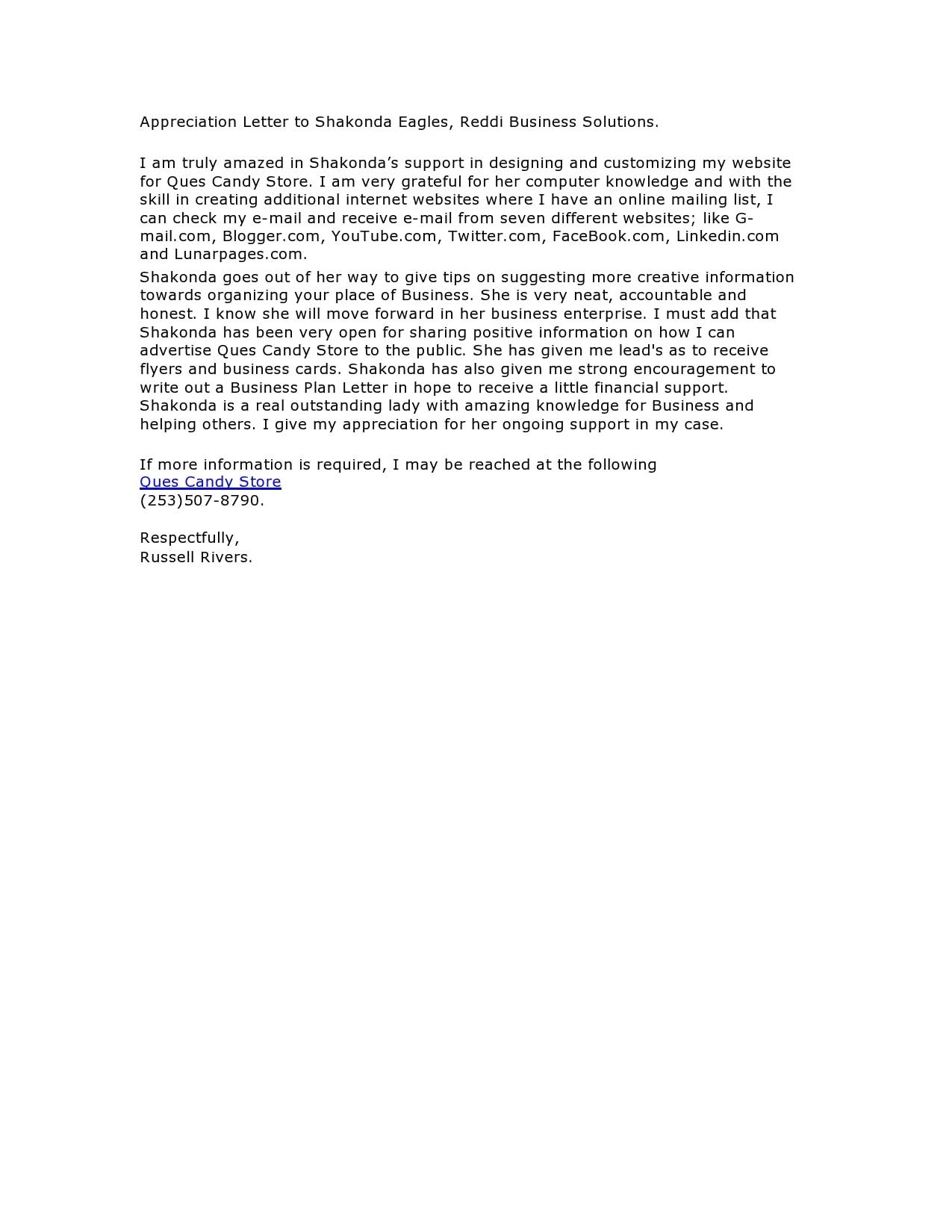 appreciation letter 33