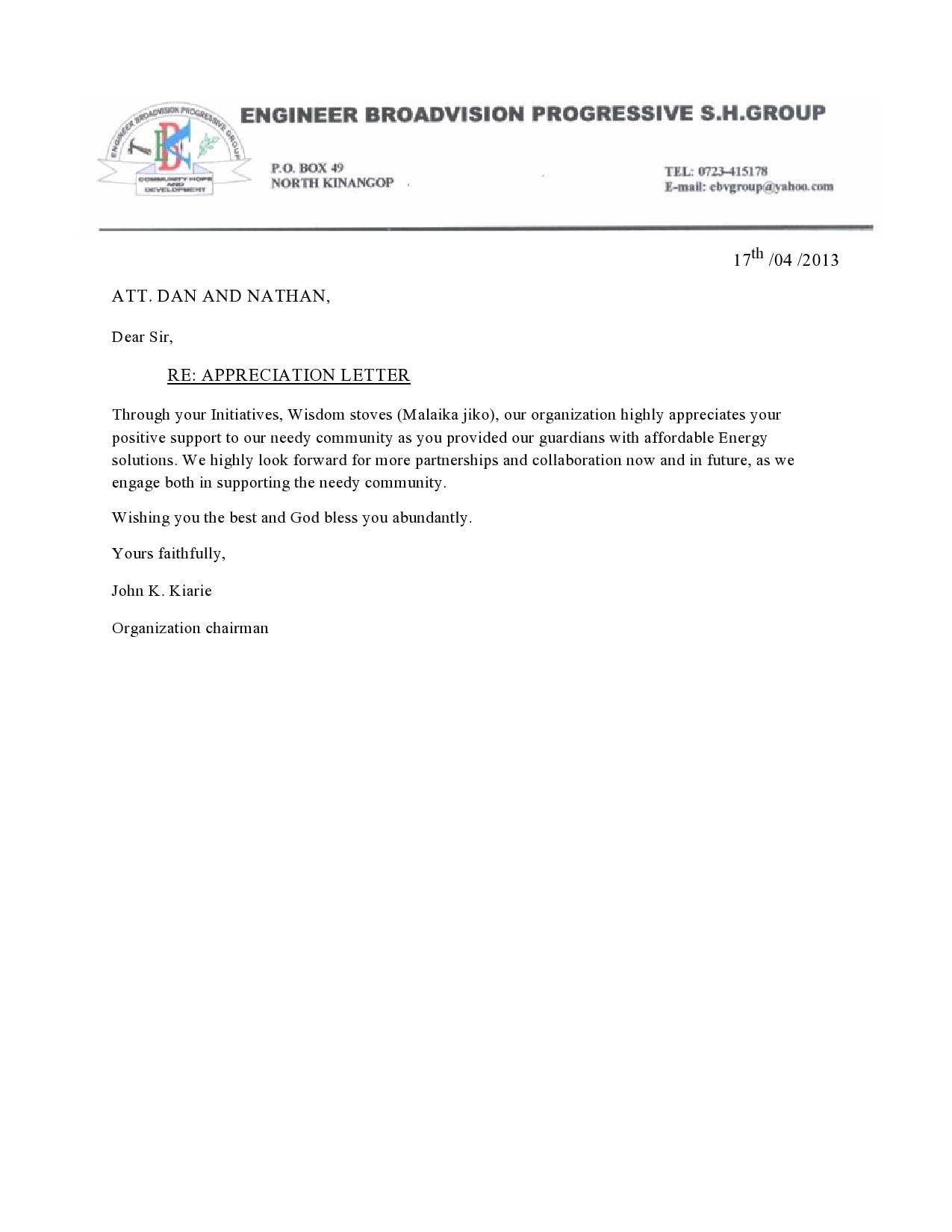 appreciation letter 34
