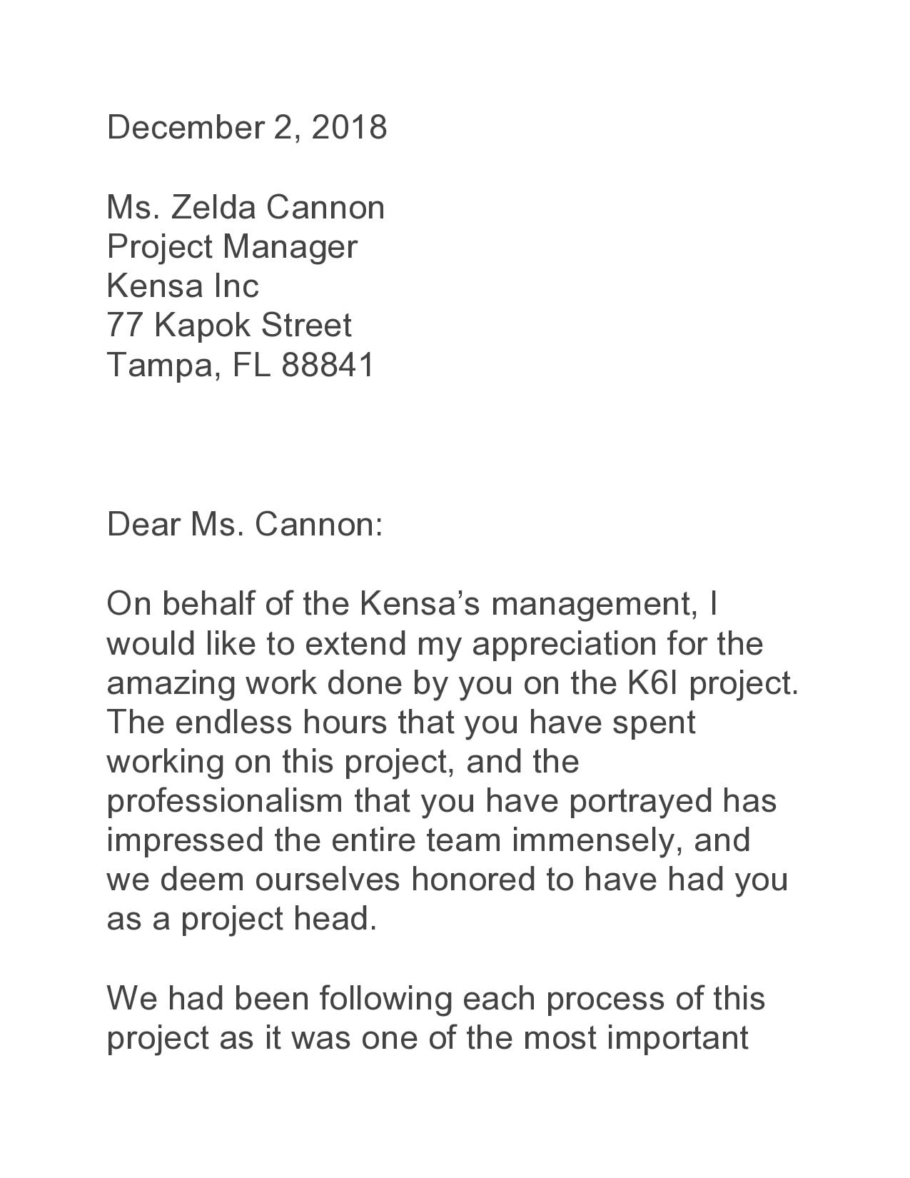 appreciation letter 39