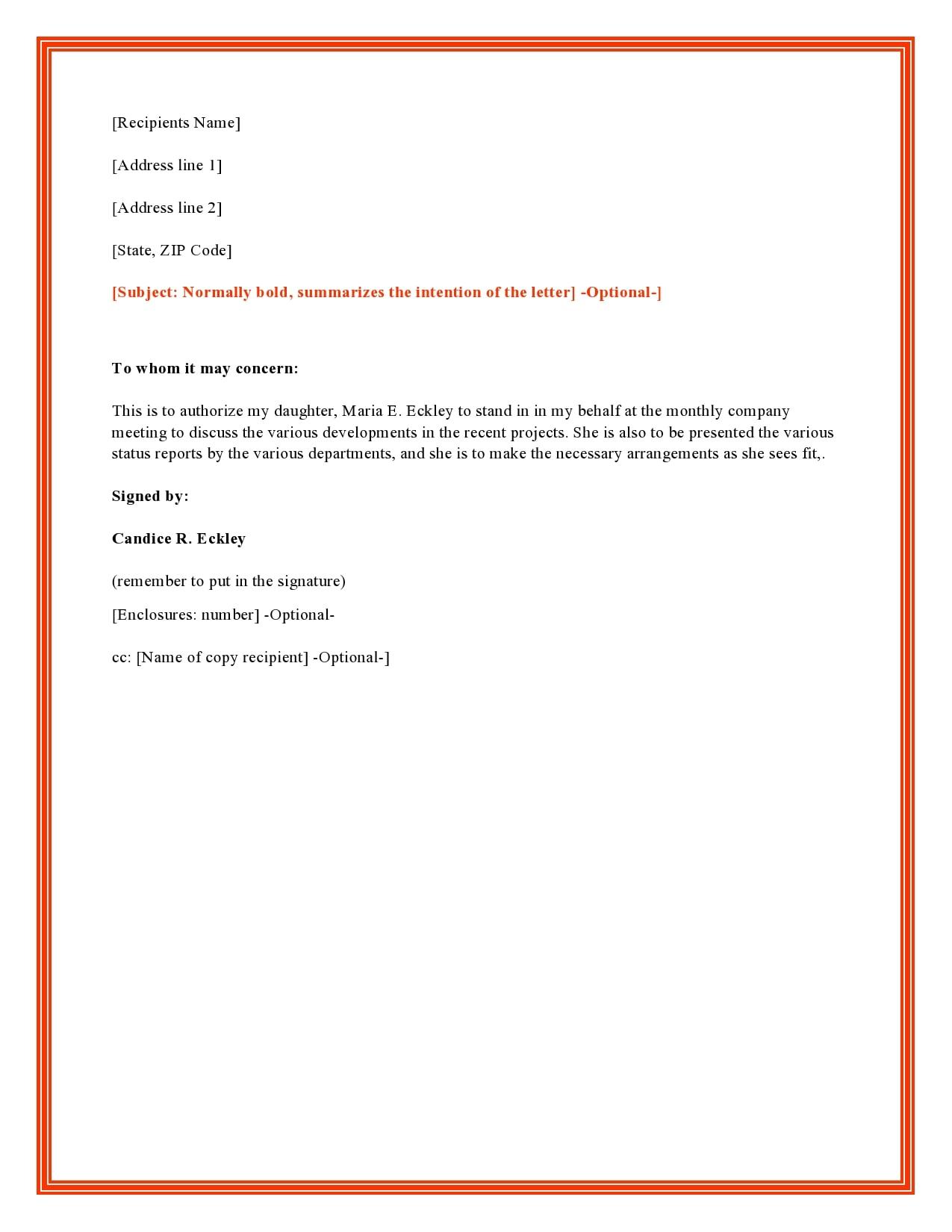 authorization letter 03