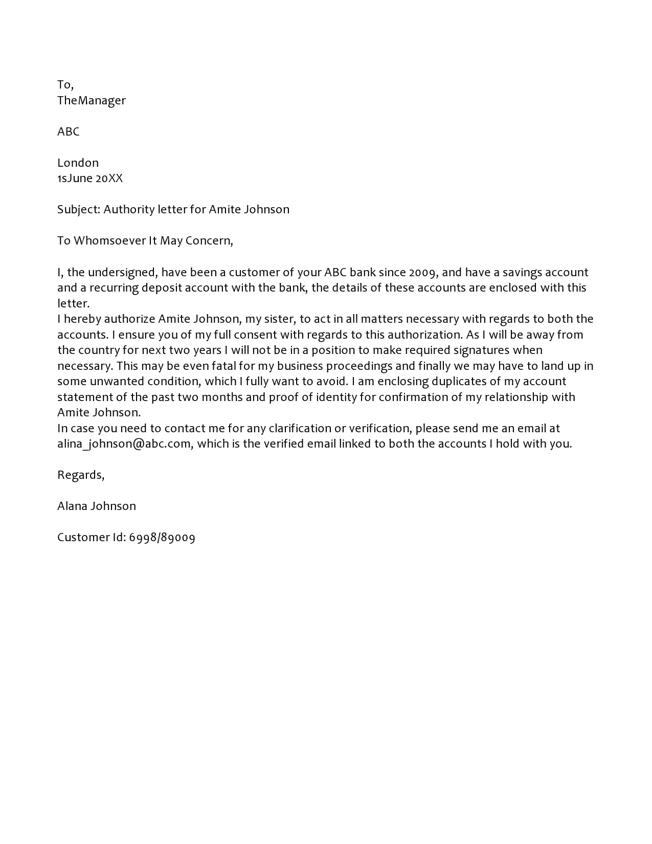 authorization letter 08