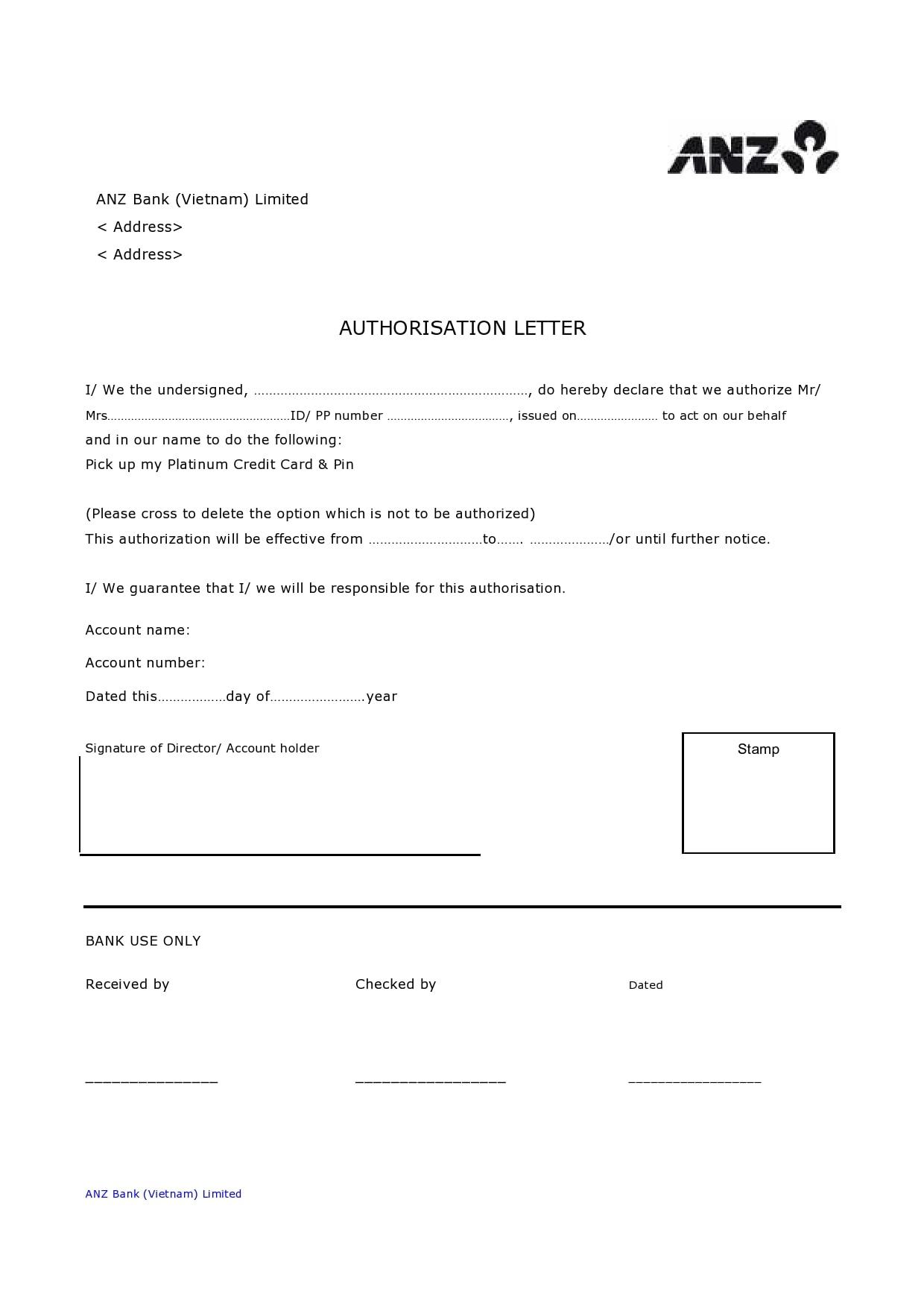 authorization letter 14