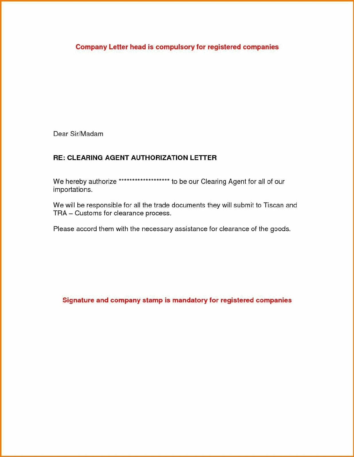authorization letter 29