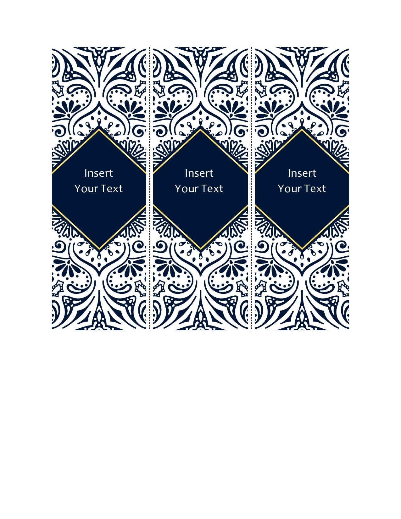 bookmark template 04