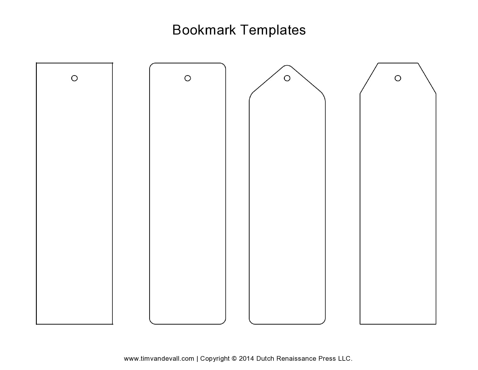 bookmark template 20