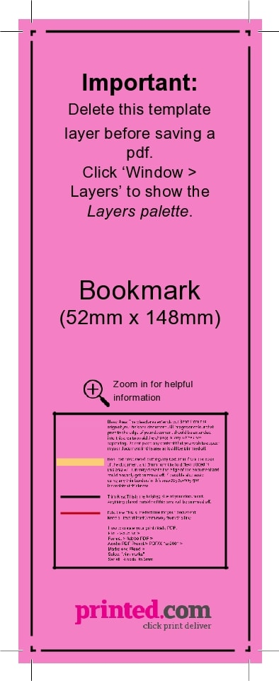 bookmark template 24
