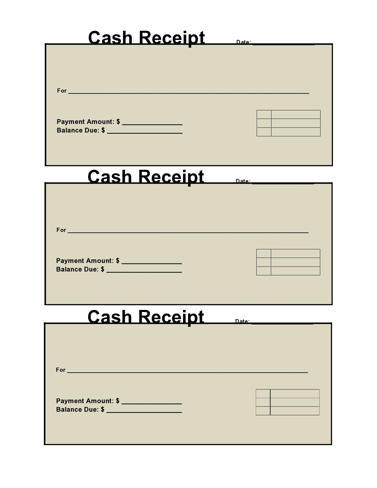 cash receipt 09