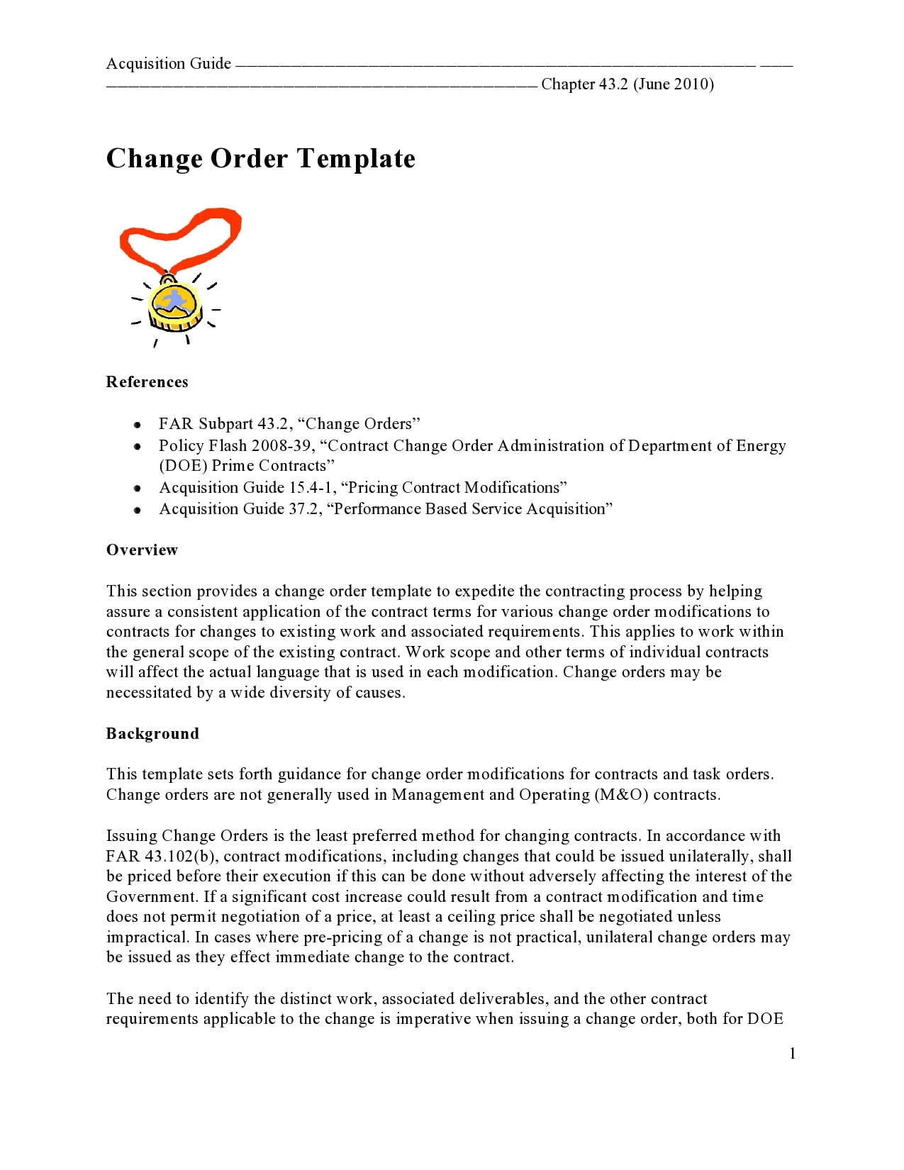 change order template 13