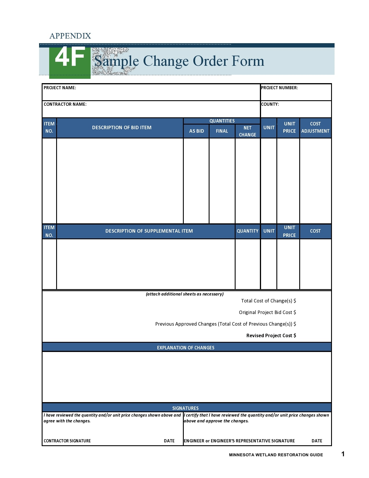 change order template 21