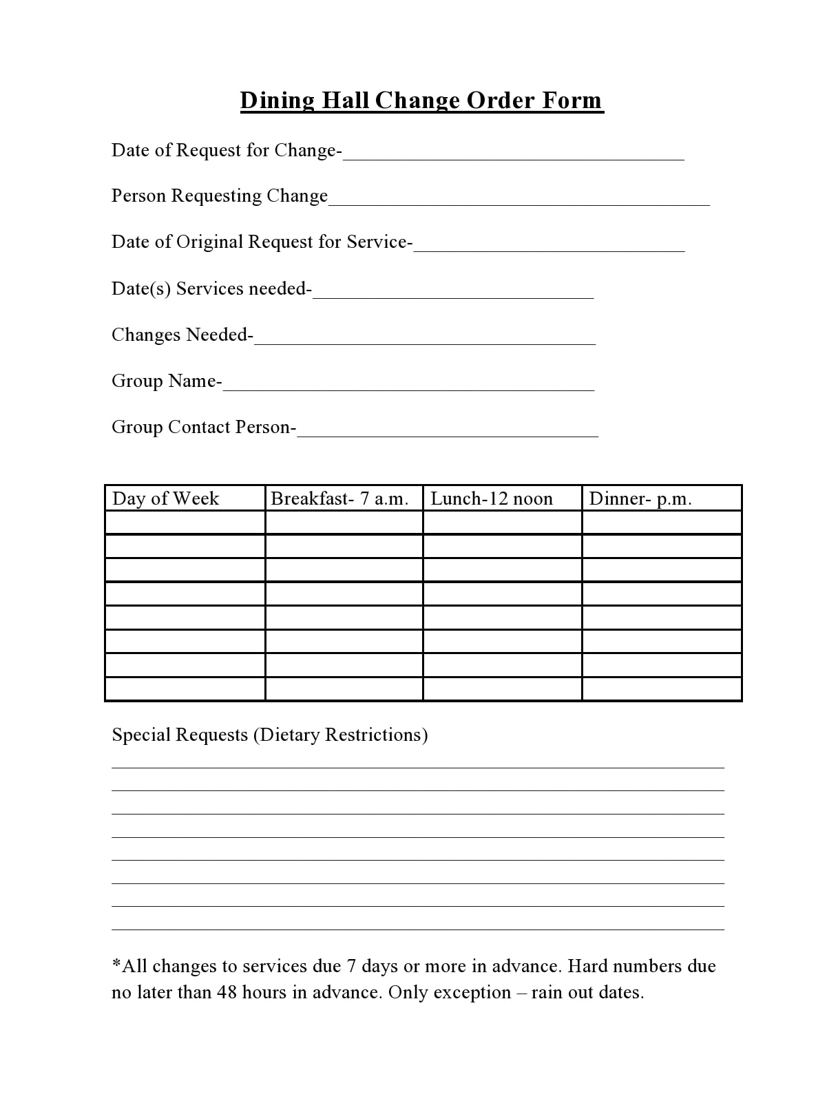 change order template 38