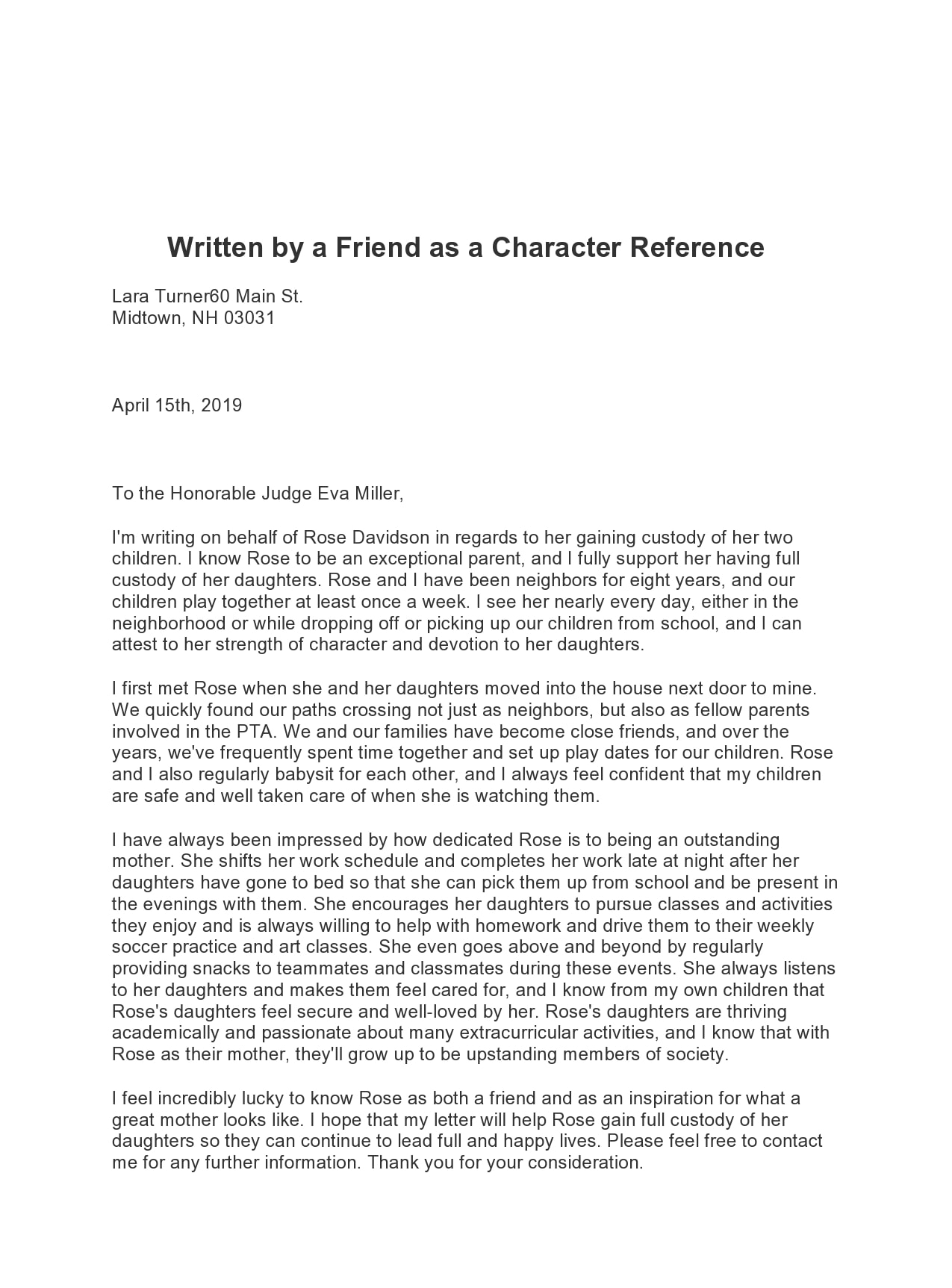 character reference letter 28