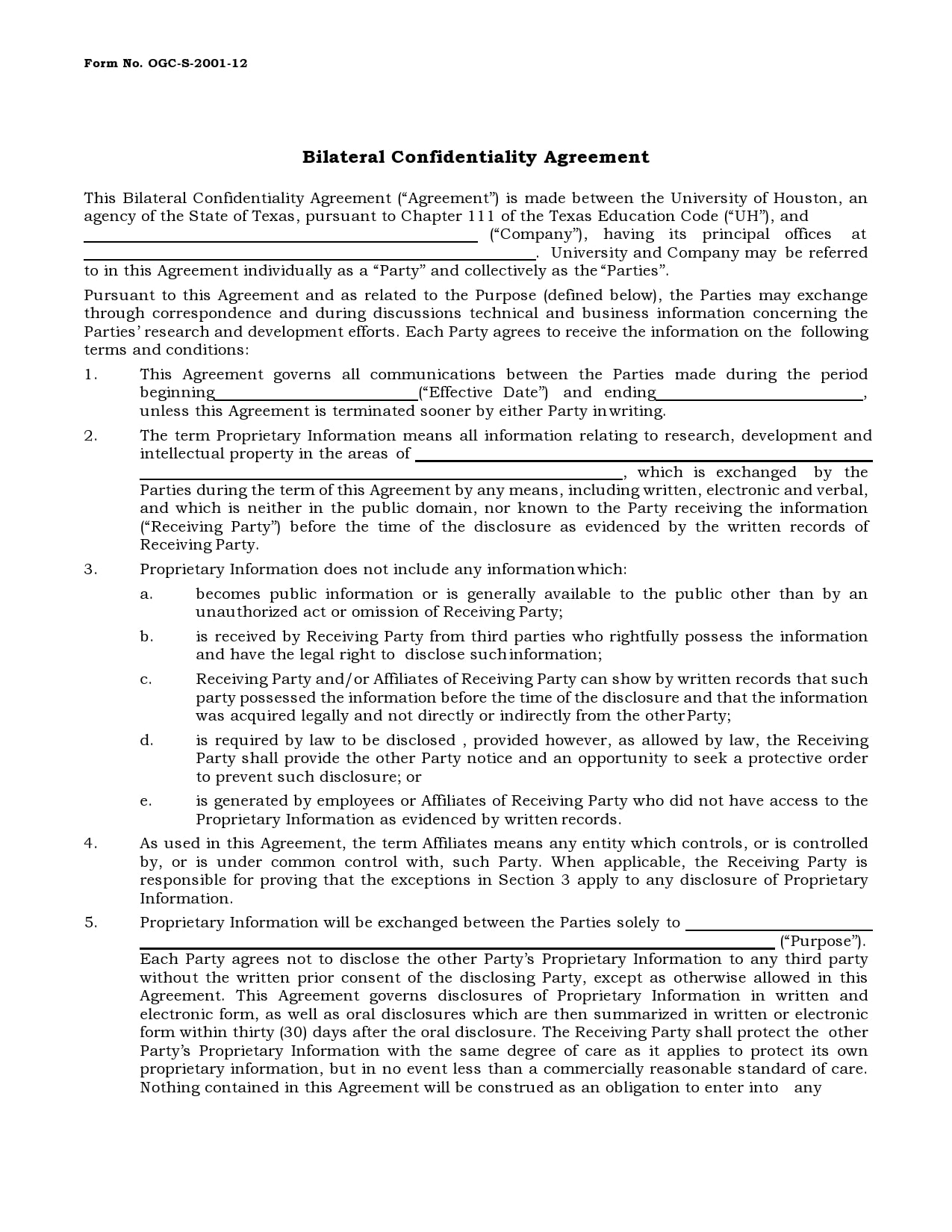 confidentiality agreement template 08