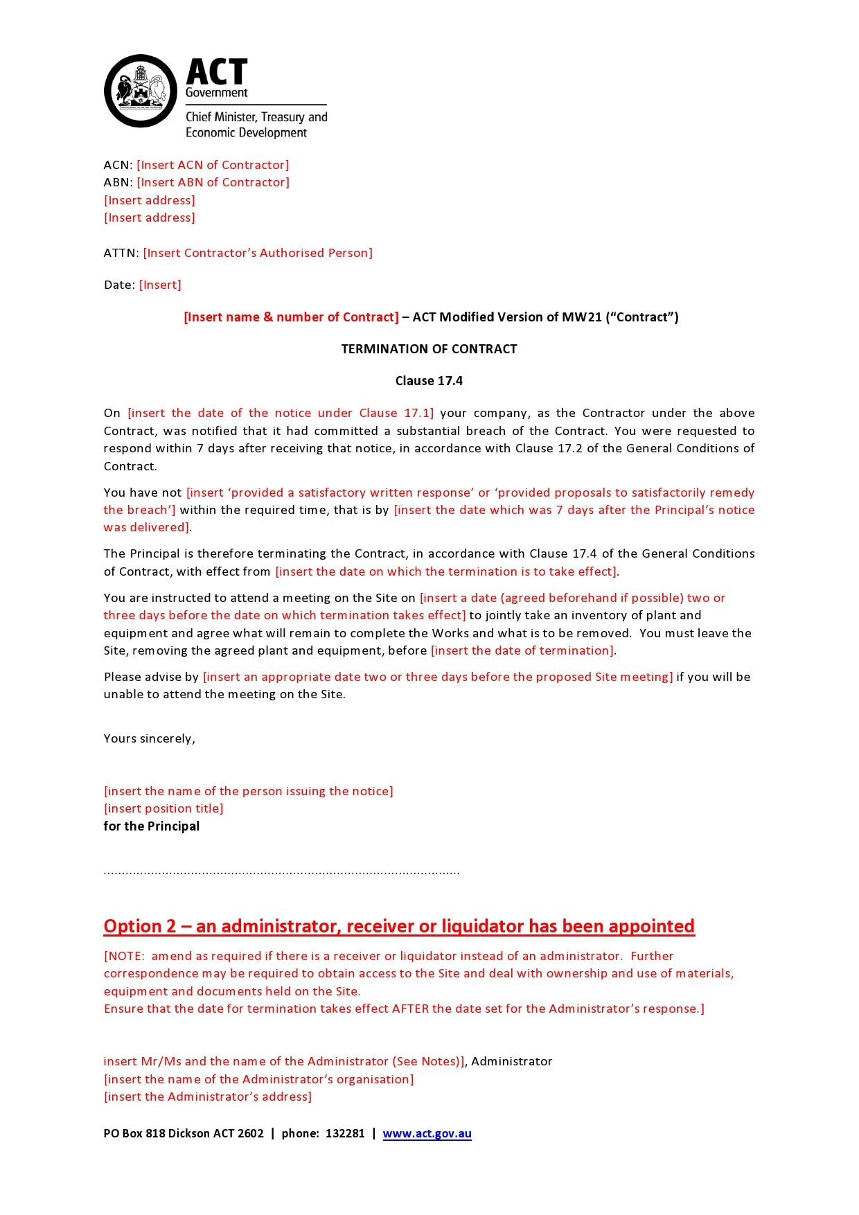 contract termination letter 04