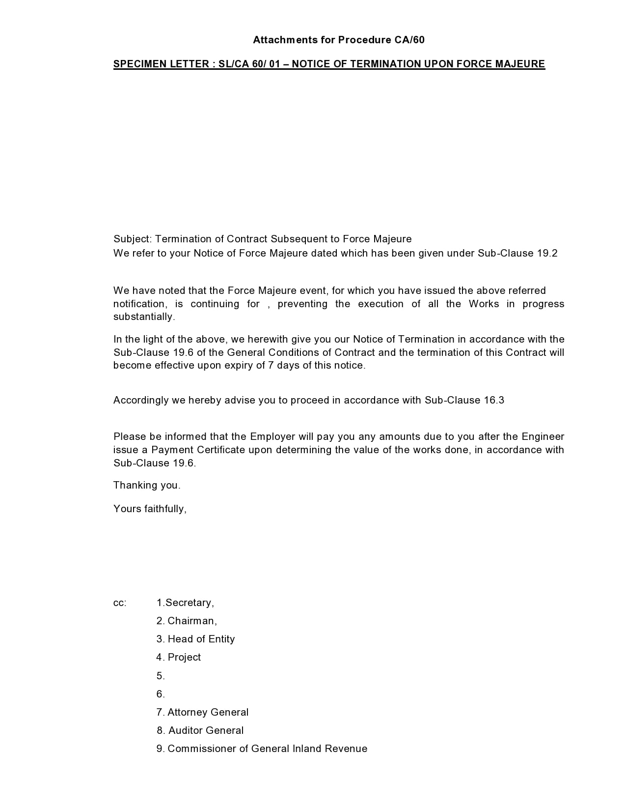 contract termination letter 10