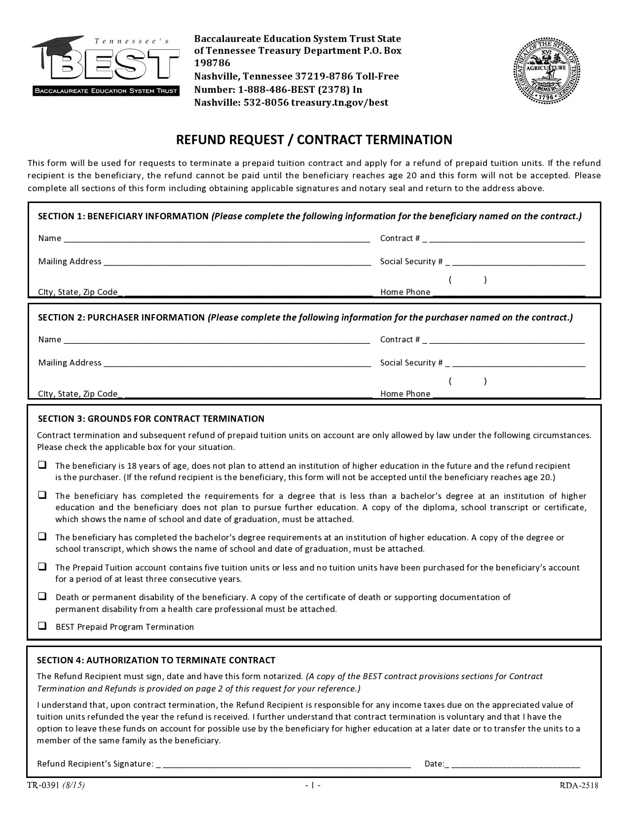 contract termination letter 18
