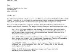 contract termination letter 25