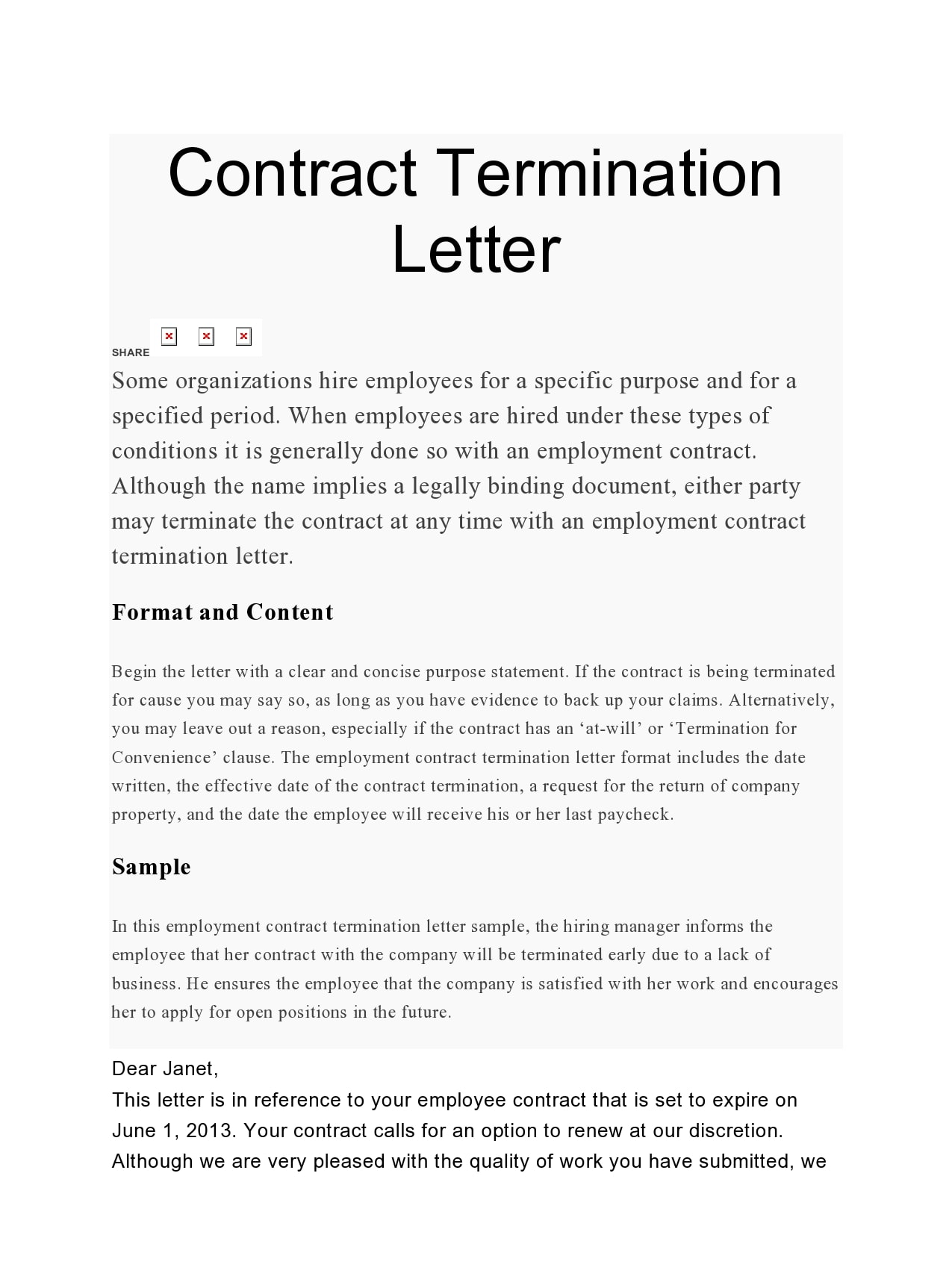 Terminating A Contract Letter from templatearchive.com