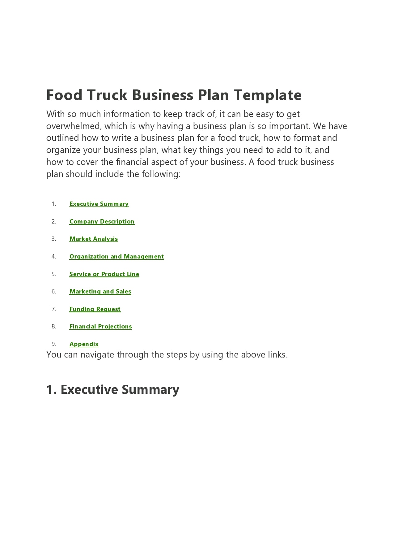food truck business plan 02