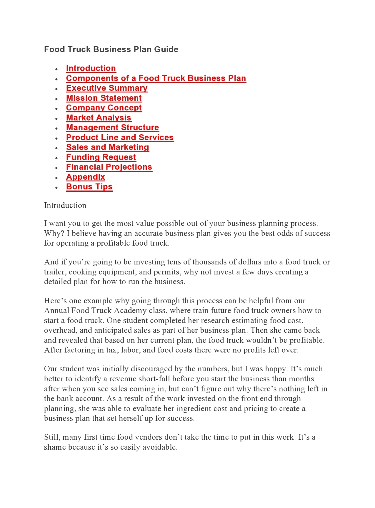food truck business plan 03