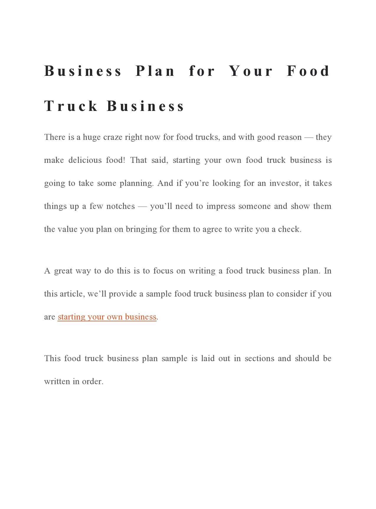 food truck business plan 06