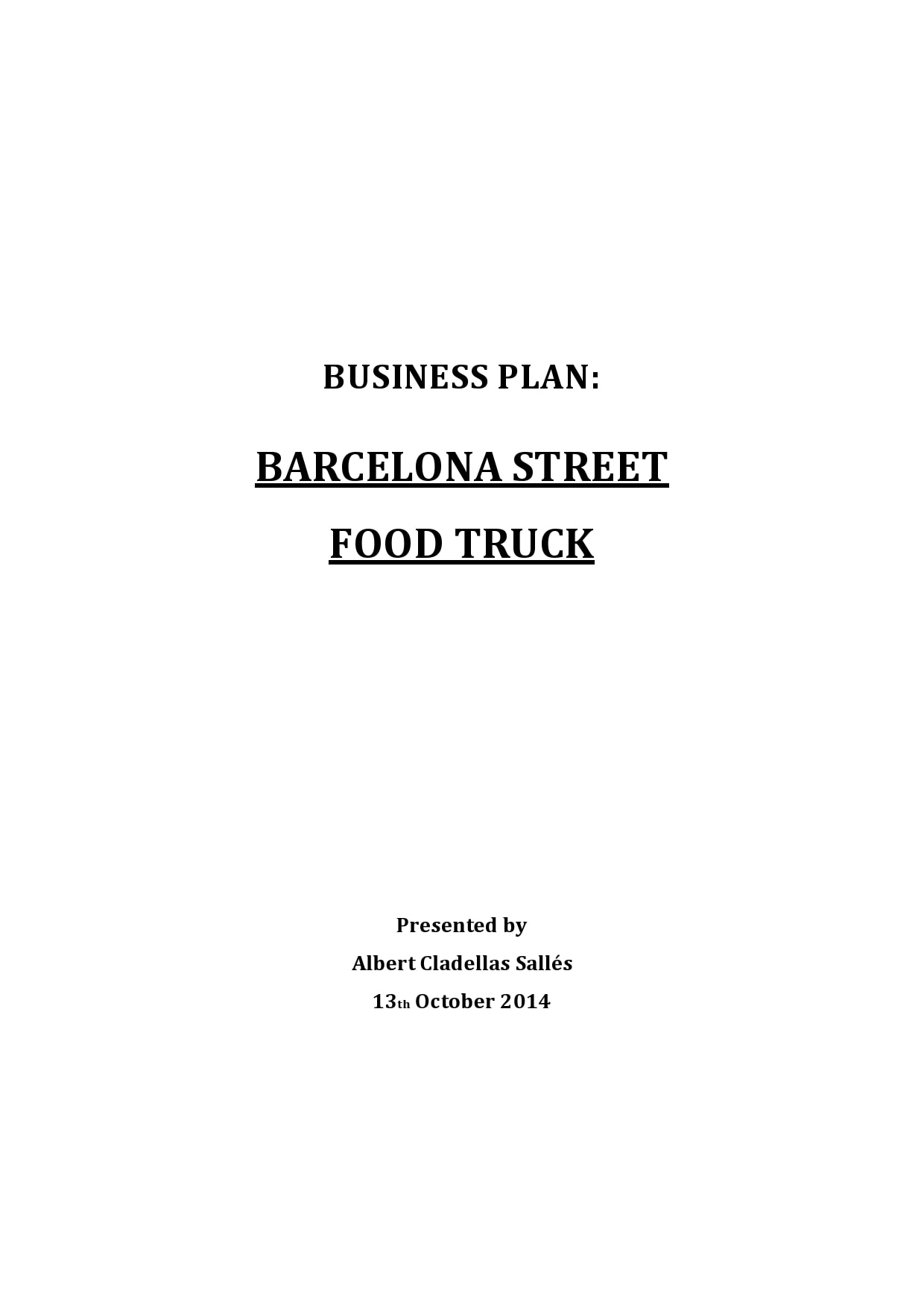 food truck business plan 16