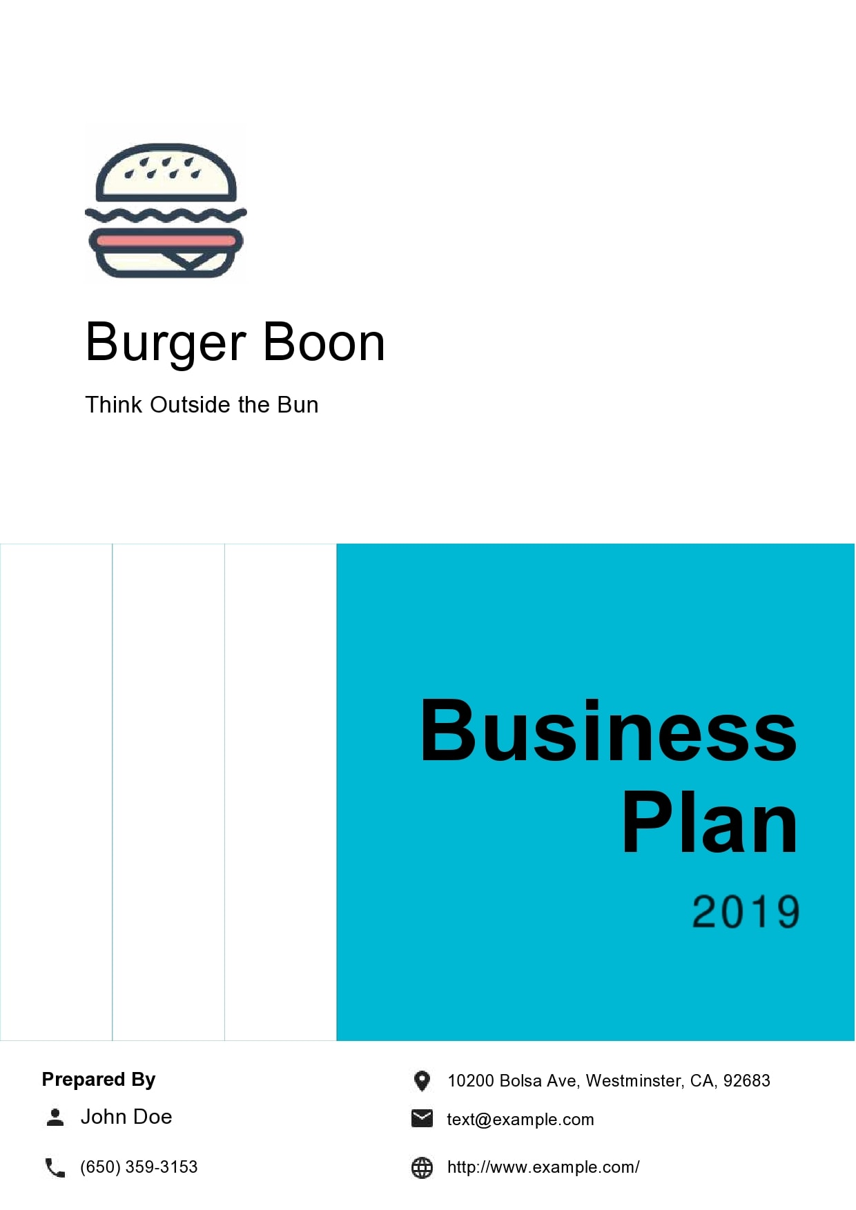 food truck business plan 23