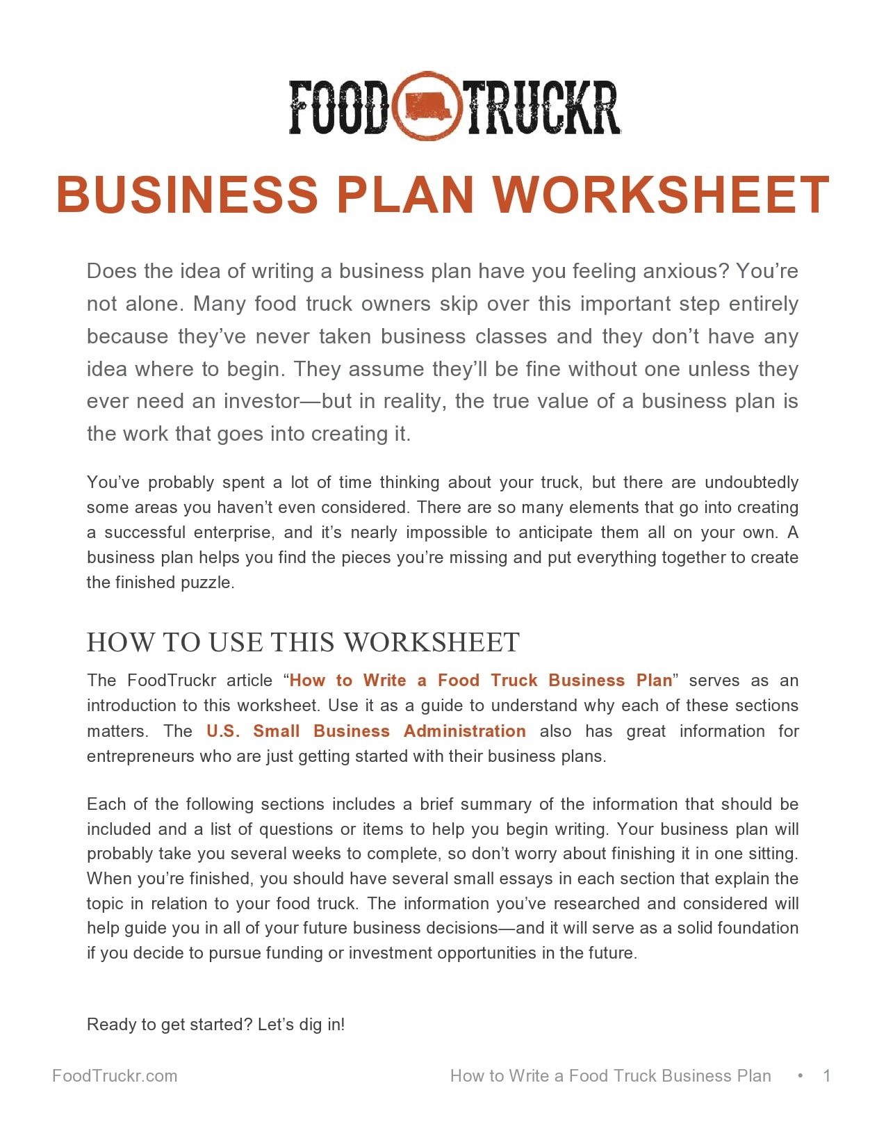 food truck business plan 29
