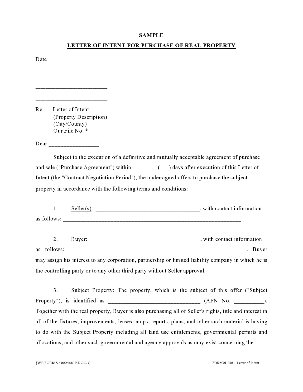 Sample Letter Of Intent To Do Business Together from templatearchive.com