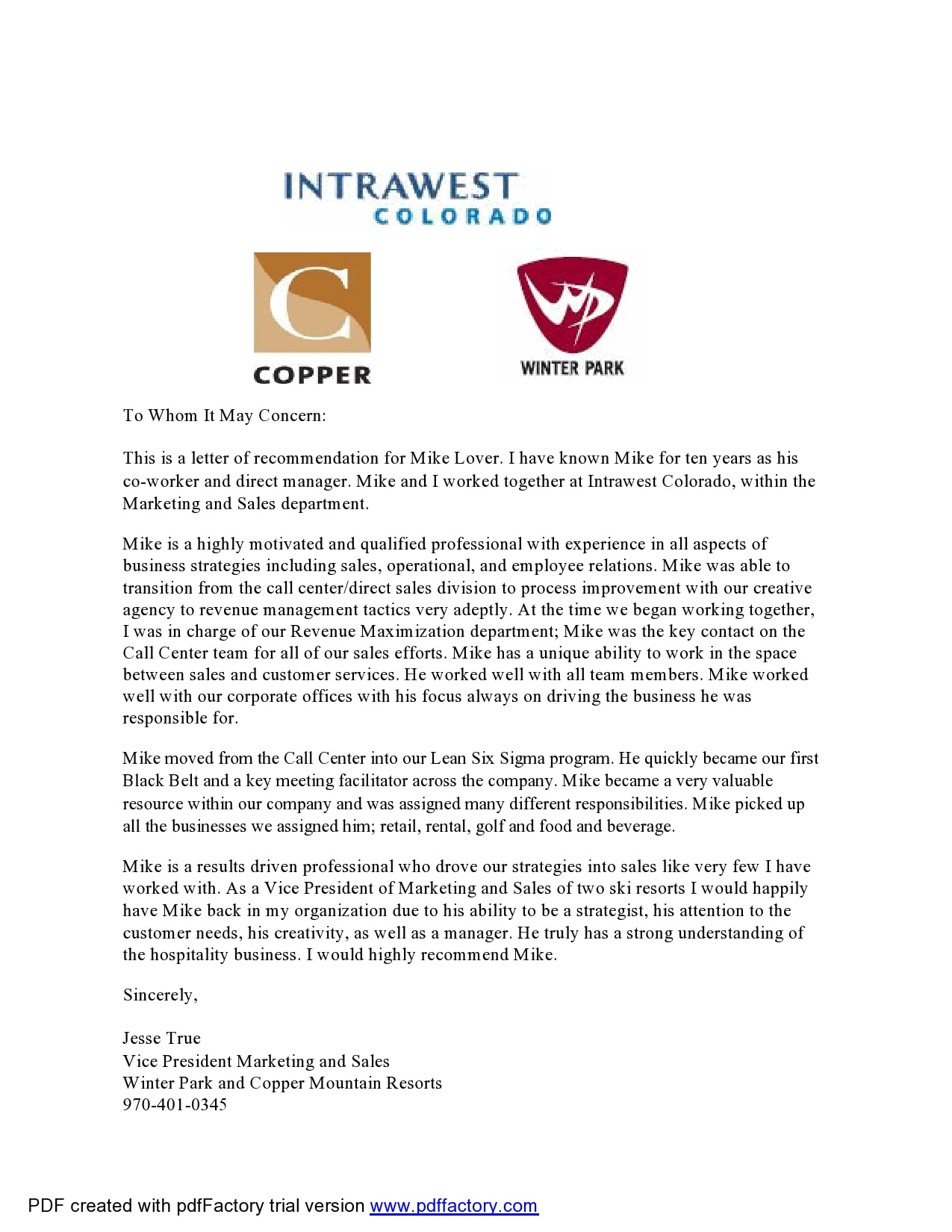 letter of recommendation for coworker 05