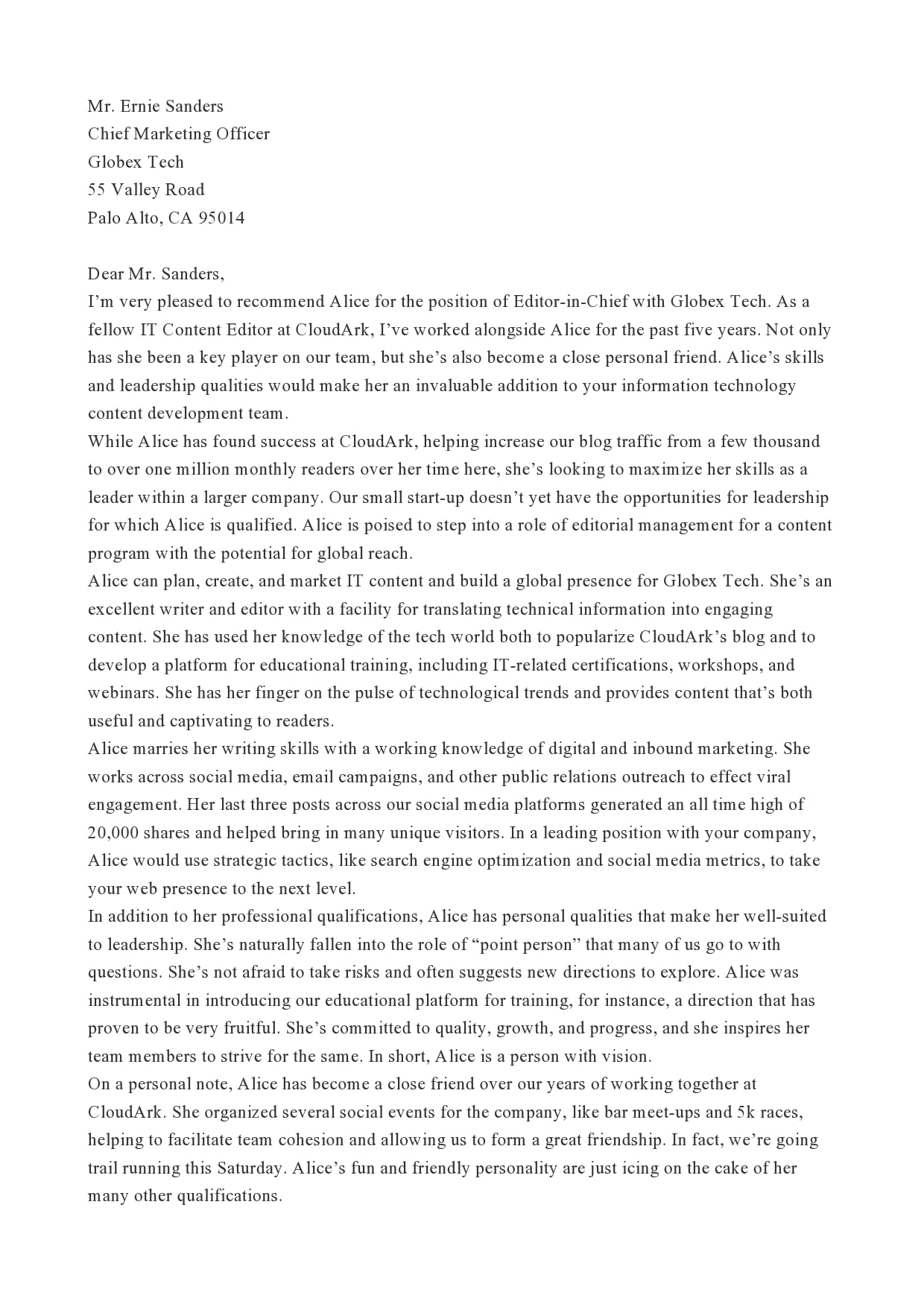 letter of recommendation for coworker 07