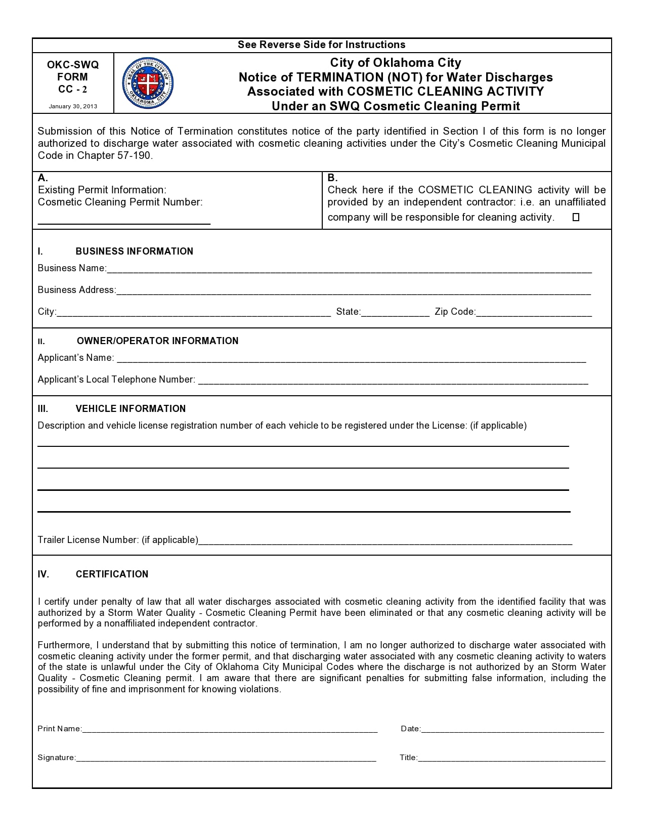 notice of termination 10