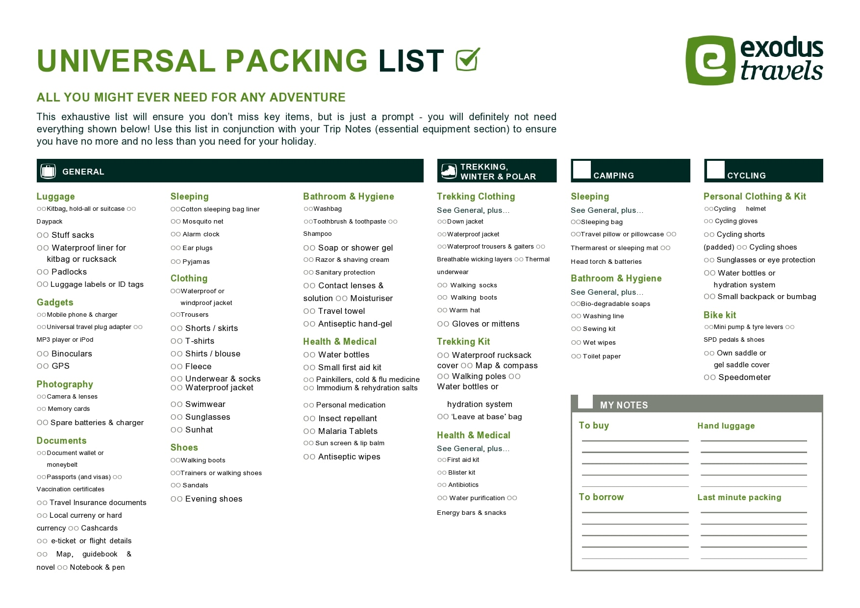 30 Packing List Templates Excel Word Pdf Templatearchive