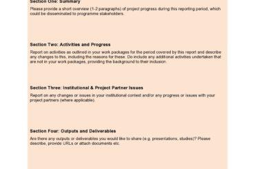progress report template 04