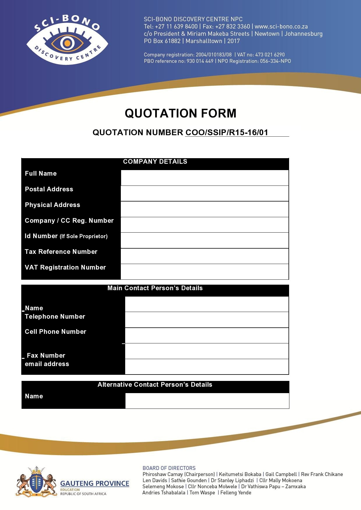 quotation template 22