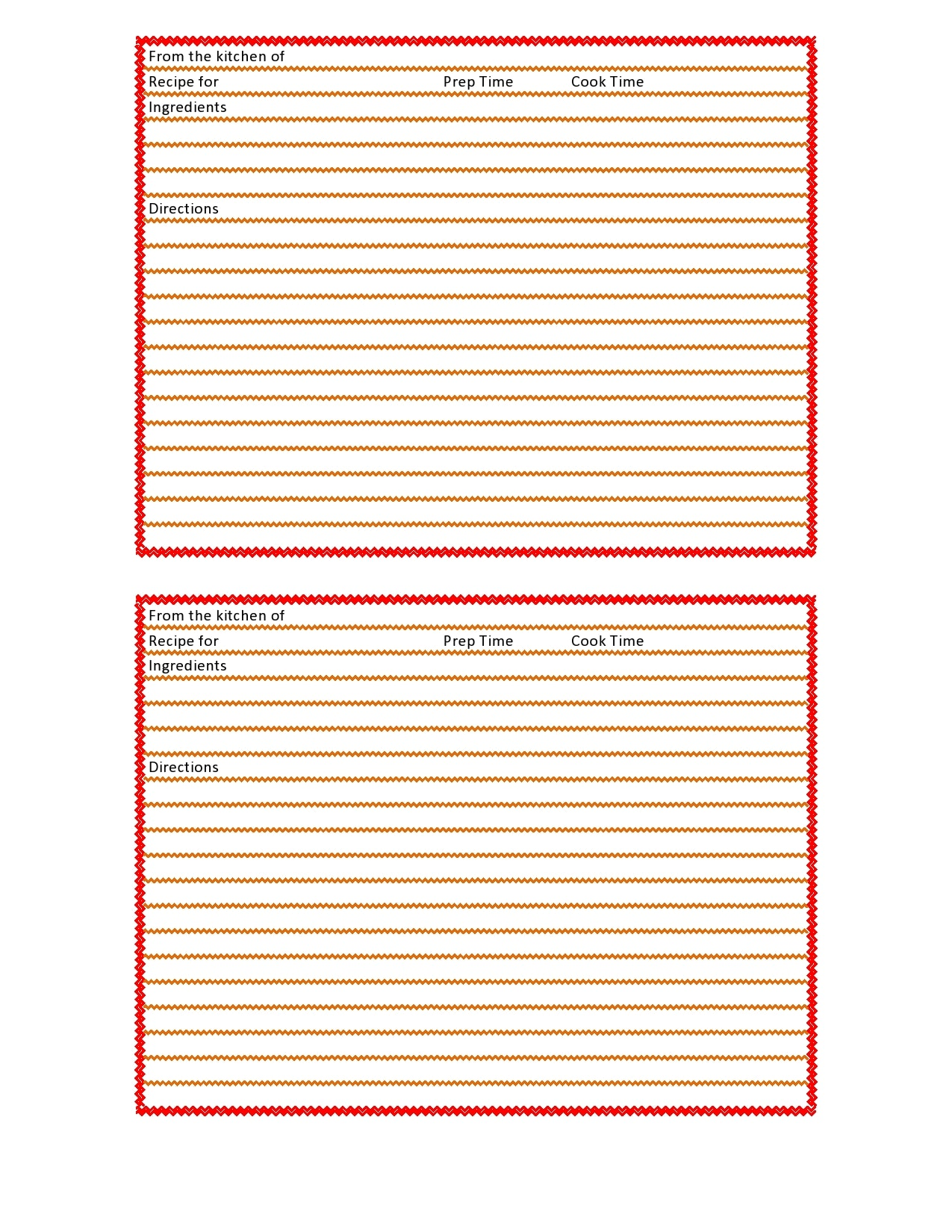21 Free Recipe Card Templates (Word, Google Docs) - TemplateArchive Throughout Blank Index Card Template