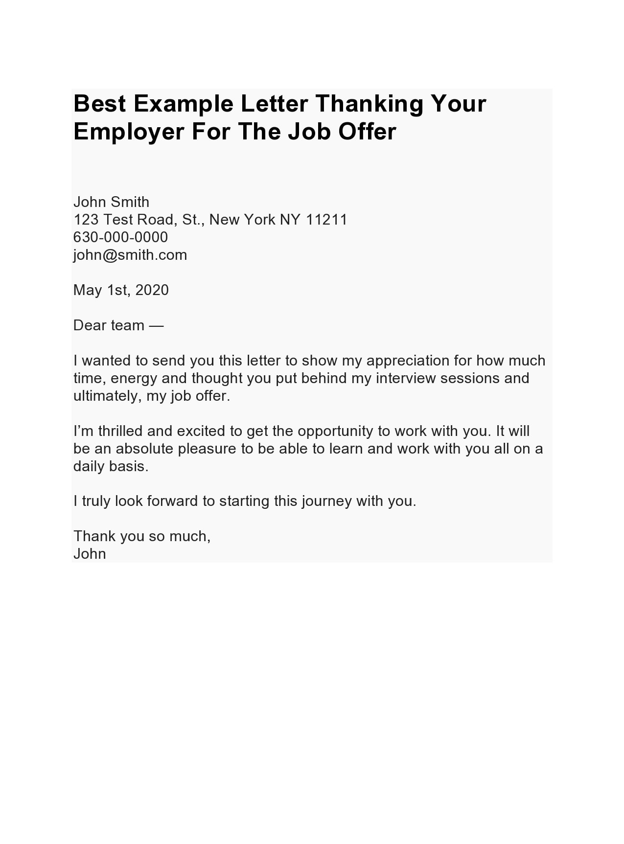 thank you letter for job offer 24