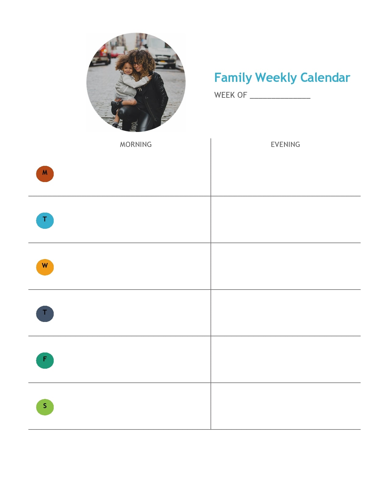 weekly schedule template 04