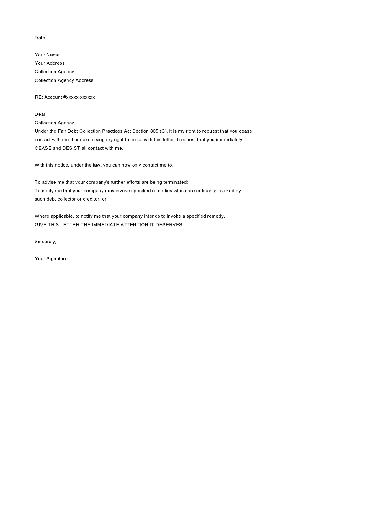 cease and desist letter template 19