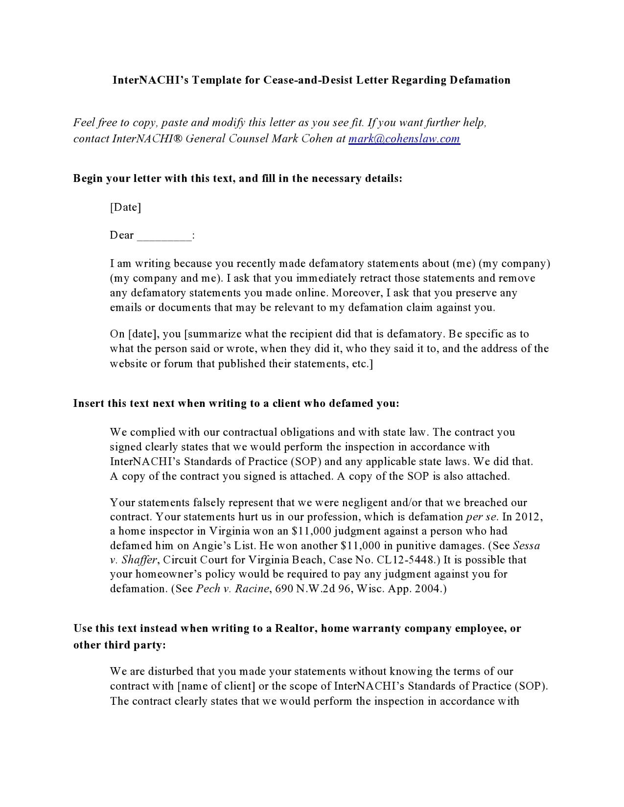 cease and desist letter template 24