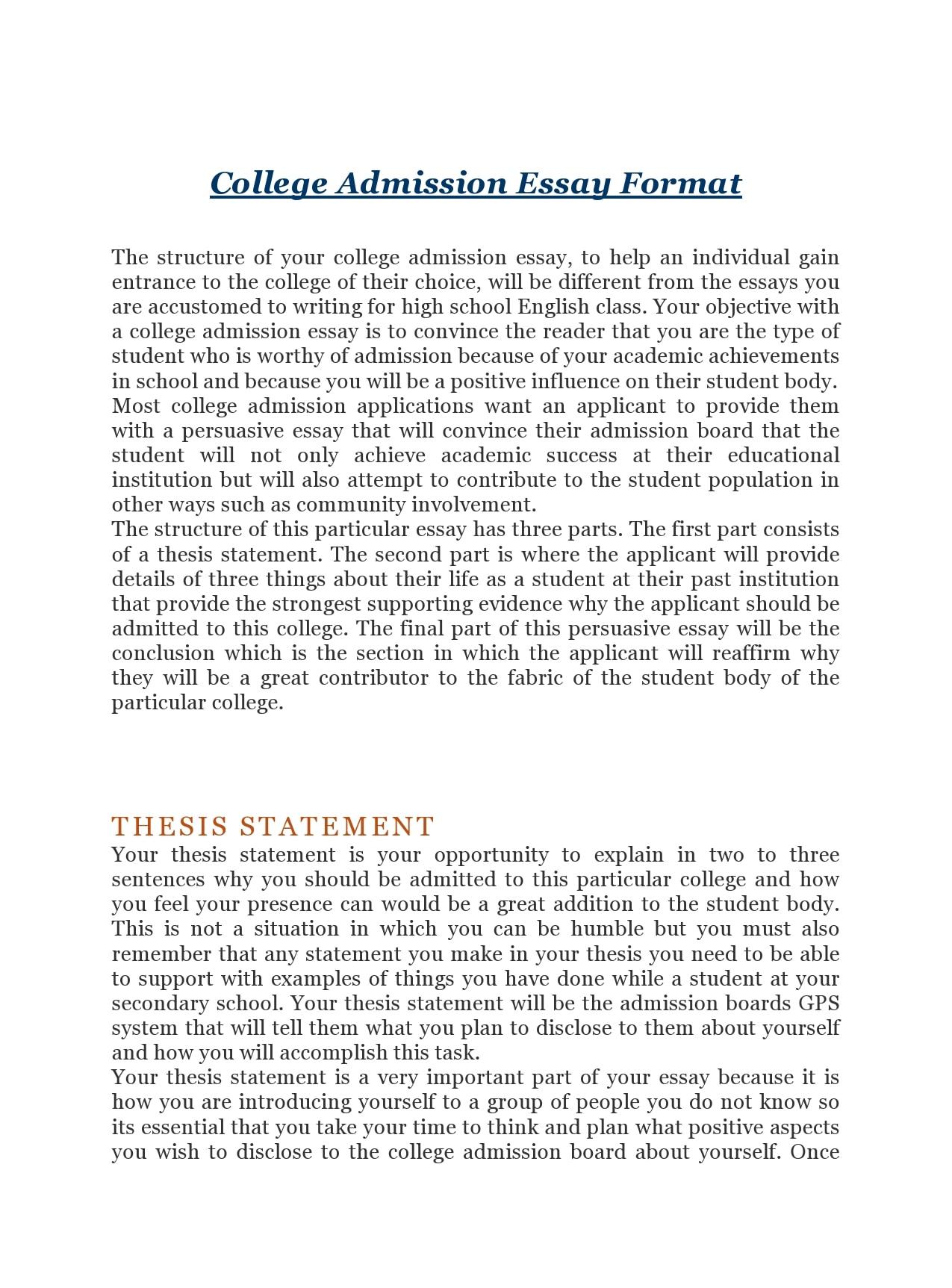college essay format 06