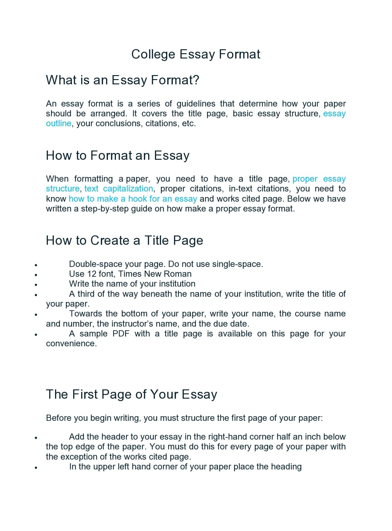 college essay format 07
