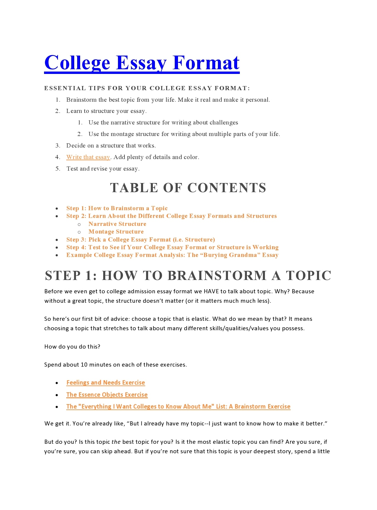 College Paper Template from templatearchive.com