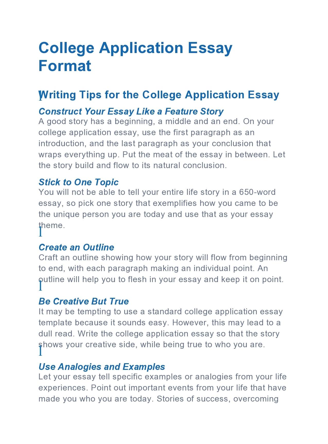 college essay format 24