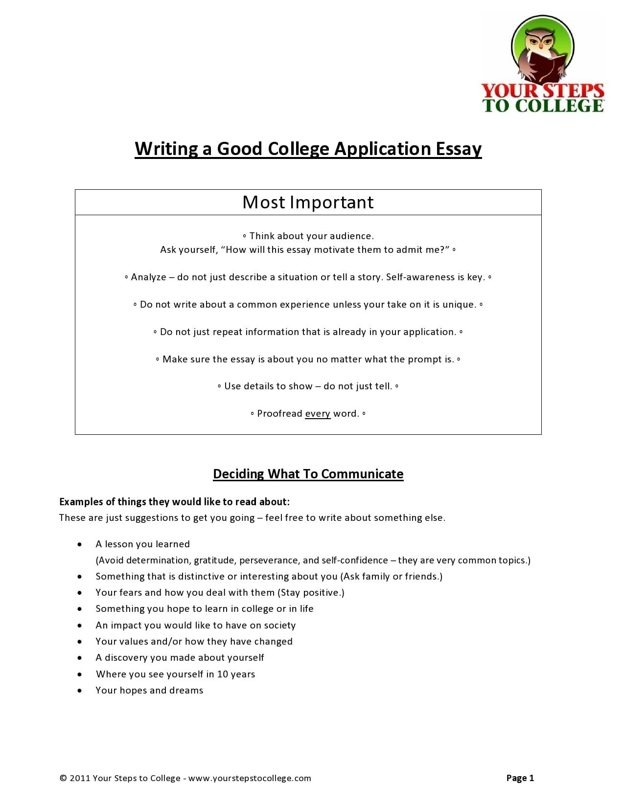 college essay format 31