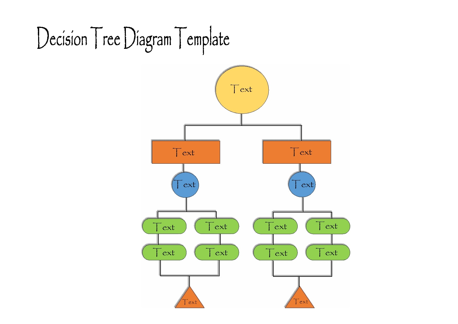 decision tree template 05