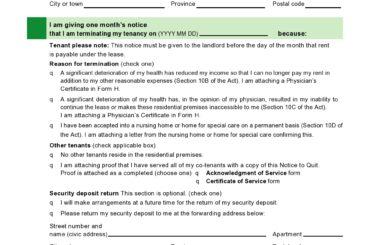 early lease termination letter 25