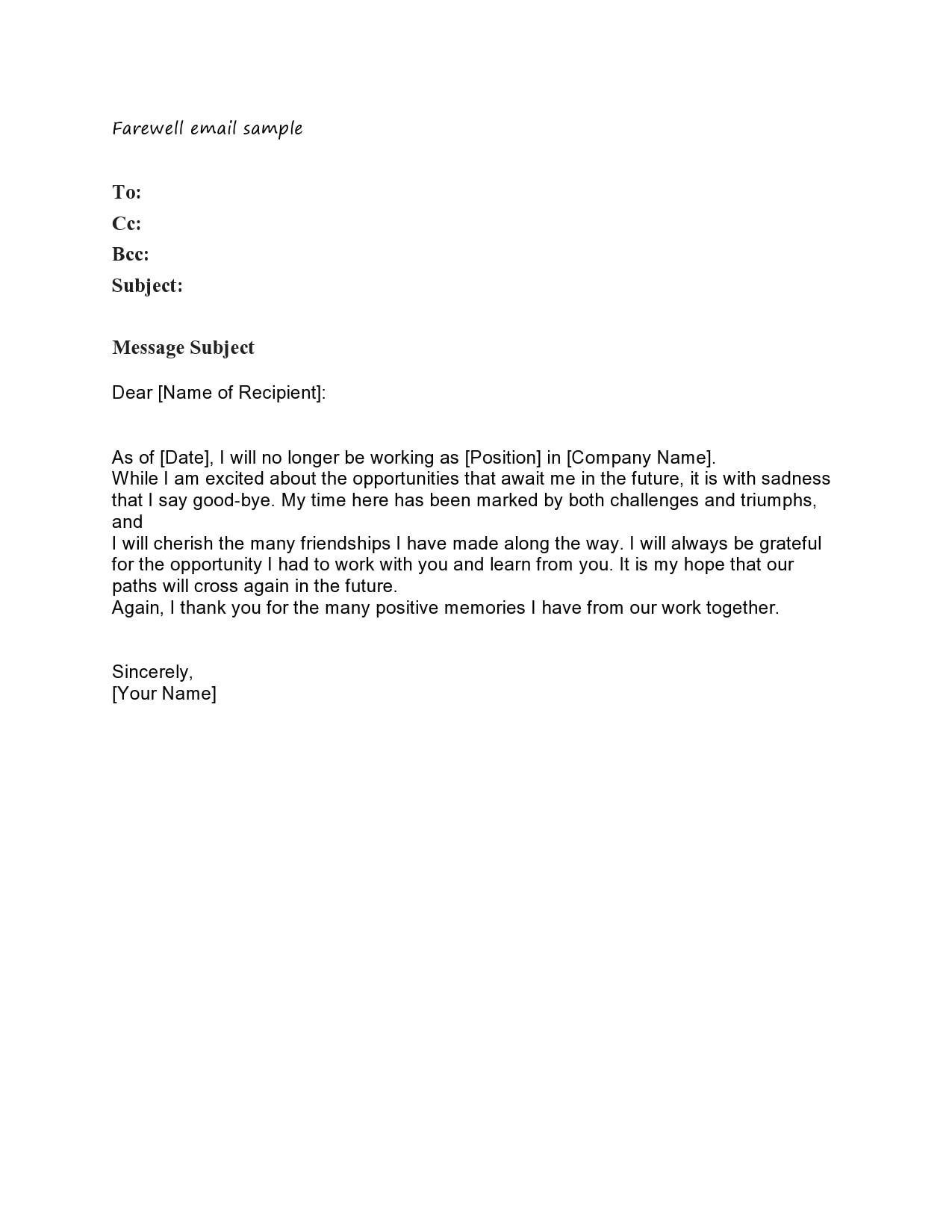 farewell letter 09