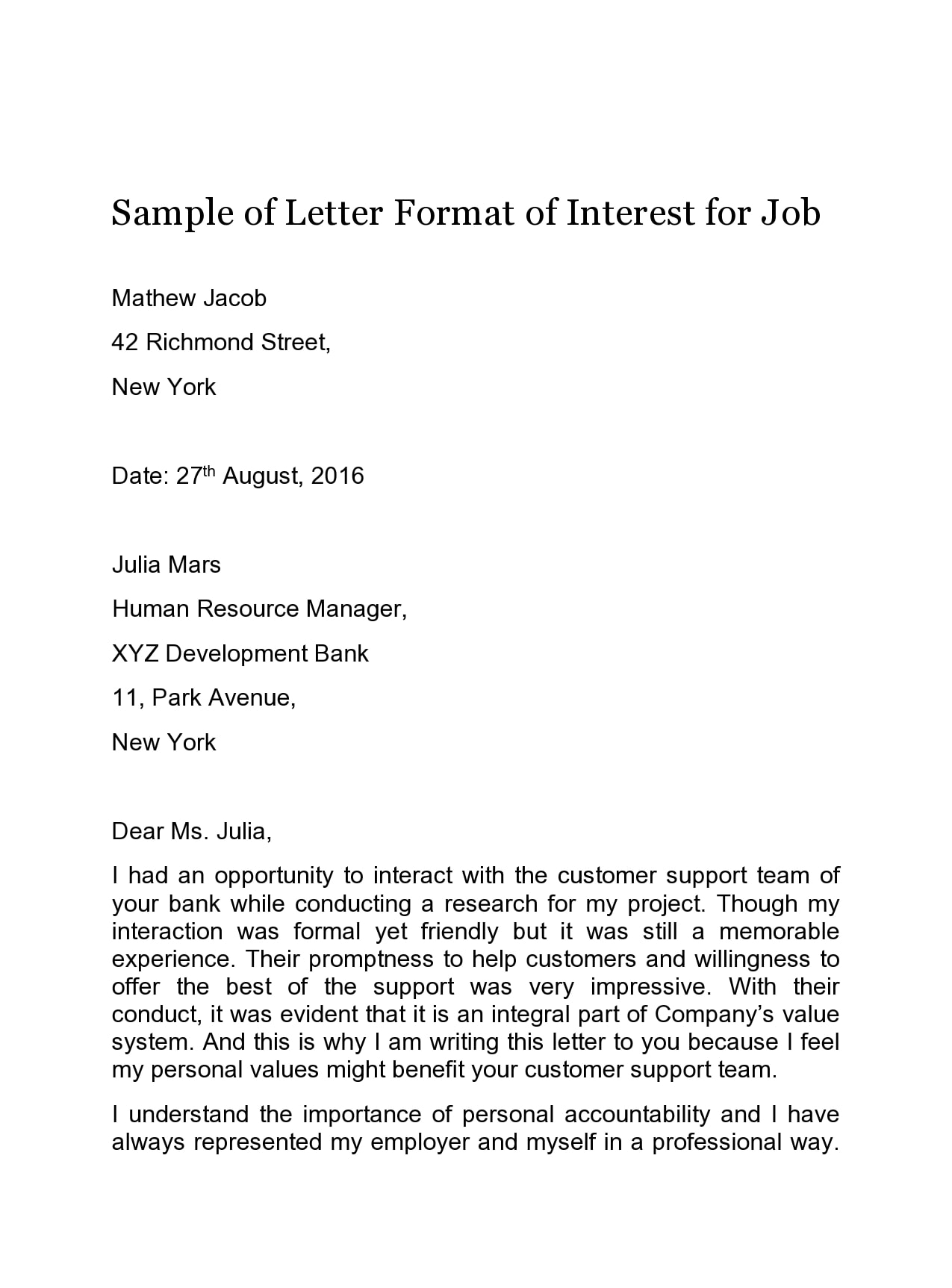 Letter Of Interest Format from templatearchive.com