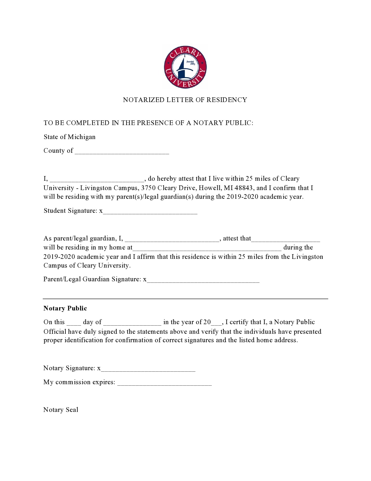 notarized letter 24